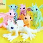 Цветные дракончики Жуковой Марии от Dream High Studio