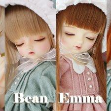 В честь старта продаж Love type Sleeping Bean и Sleeping Kino Migidoll будут продавать еще и Sleeping Emma и Sleeping Toto