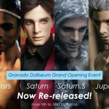 С 9 по 16 октября Granado продают: Mars, Jupiter, Saturn и Saturn.S