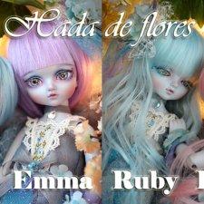 Migidoll совместно с Nine 9Style сделали серию кукол Hada de flores series