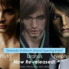 С 17 по 24 октября у Granado можно купить Uranus, Neptune и Pluto