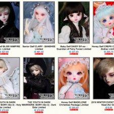 LUTS будут продавать новых кукол с 24 ноября по 23 декабря