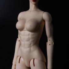 Impldoll продают мускулистое женское тело