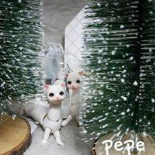 Nobility Doll скоро будут продавать белого хорька PePe