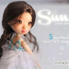 С 1 по 5 января Nympheasdolls будут продавать 30 шт Sun