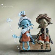 Линн и Доун от Dollzone. Ивент