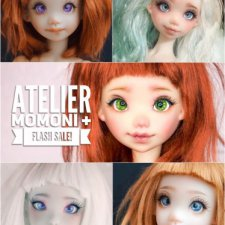 Atelier Momoni пересчитала не проданные остатки кукол и продает