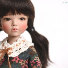 Raccoondoll продают Rosy Cheeks фулсетом и куклой