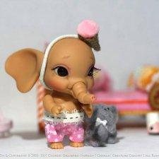 Charles' Creature Cabinet будут продавать слонёнка Элли