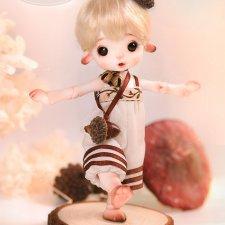 Charm doll продают Pine Cone-Momo и Squirrel-Miumiu