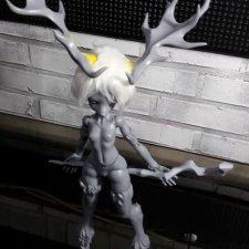 DollPamm делают девочку-оленя - Deer Tirka