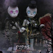 Куклы к хеллоуину от PIPOS и Enchanted Doll