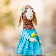 Овечка, выкройка игрушки от Ирины Полушкиной