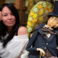 Мастер и его куклы. Ольга Егупец