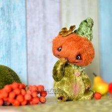 Тётушка Тыква Осенняя, выкройка игрушки от Натальи Толстыкиной