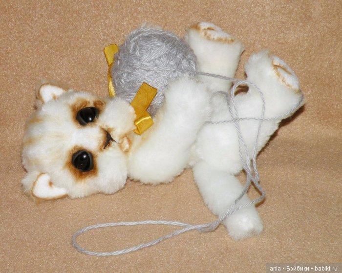 Котенок тедди, выкройка игрушки Светланы Калмыковой