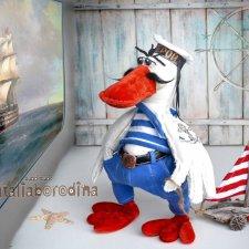 Гусь морячок, выкройка Натальи Бородиной