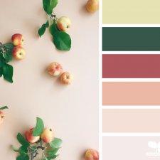 Осень. Сочетание цветов
