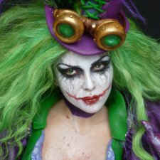 Victorian Steampunk Joker, автор Kim Johnson