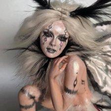 Зимняя фея или мотылек, автор куклы Kim Johnson