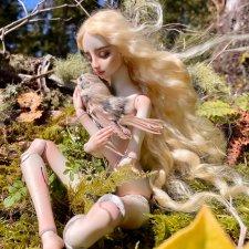 Кукла Марины Бычковой - Я согрею тебя