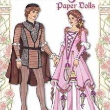 Бумажные куклы Ромео и Джульетта