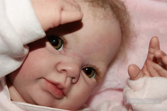 Кукла реборн от Татьяны Цорн