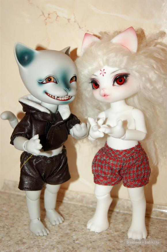 киска - кукла BJD