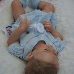 Мой нежный ребенок Эсме куклы реборн Татьяны Цорн