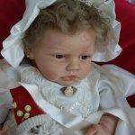Малышка Кайли куклы реборн Татьяны Цорн
