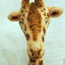 Жираф-тедди, выкройка игрушки от Виктории Макаровой