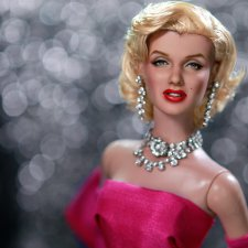 Marilyn Monroe, мэйк куклы сделан Noel Cruz