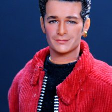 Luke Perry, мэйк куклы сделан Noel Cruz