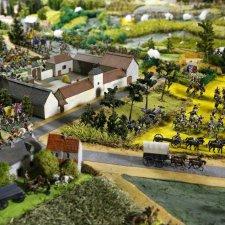 Битва при Ватерлоо в миниатюре