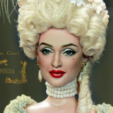 Madonna - Vogue, мэйк куклы сделан Noel Cruz