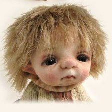 Валянные куклы и игрушки из шерсти Рины Буше