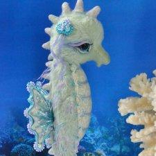 Морской конек от Маньковской Натальи, выкройка игрушки