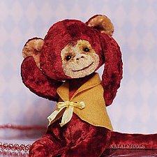 Огненная обезьянка от Натальи Толстыкиной. Выкройка игрушки