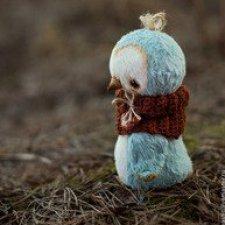 Выкройка автоорской игрушки пингвинчика от Настёны Никитиной