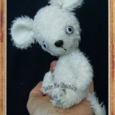 Мышка поскребушка - выкройка игрушки от Юлии Ковальчук