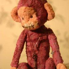 Выкройка игрушки, обезьянка от Лялечкины мишки
