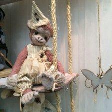 Обезьянка, выкройка игрушки от Юлии Аладьиной