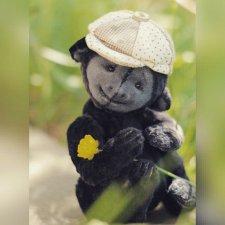 Обезьянка, выкройка игрушки от Юлии Святоха