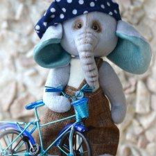 Выкройка игрушки, слоненка от Ольги Веселовой