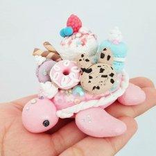 Очаровательные черепашки, миниатюры от ClaybieCharms