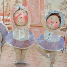 Текстильная кукла Жизель, выкройка Елены Диденко