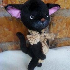 Выкройка котенка Тоси Рыбкиной