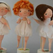 Выкройка текстильной куклы Юлии Наталевич