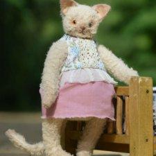 Кошечка, автор выкройки Bilen Toys