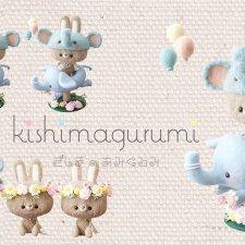Милые игрушки в очаровательных шапочках от kishimagurumi